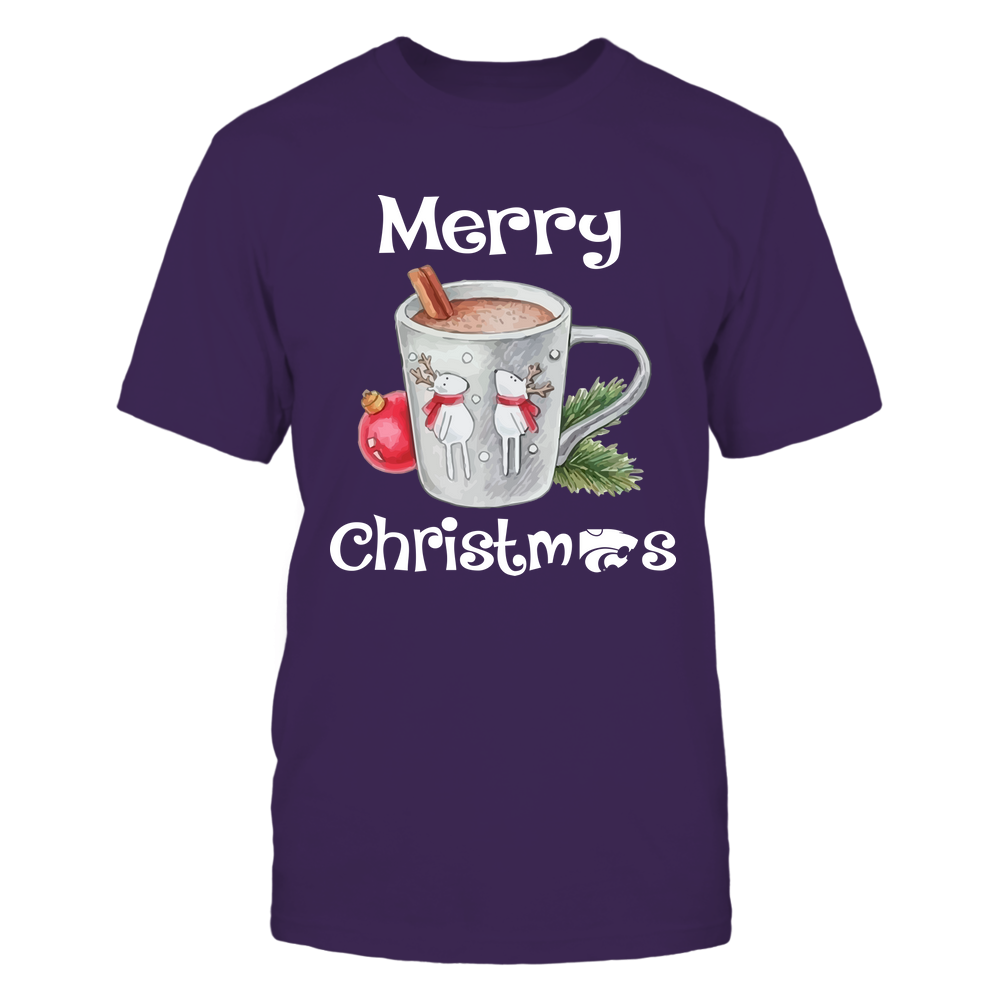 Kansas State Wildcats - Xmas - Hot Cocoa  - IF82-IC82-DS64 Front picture