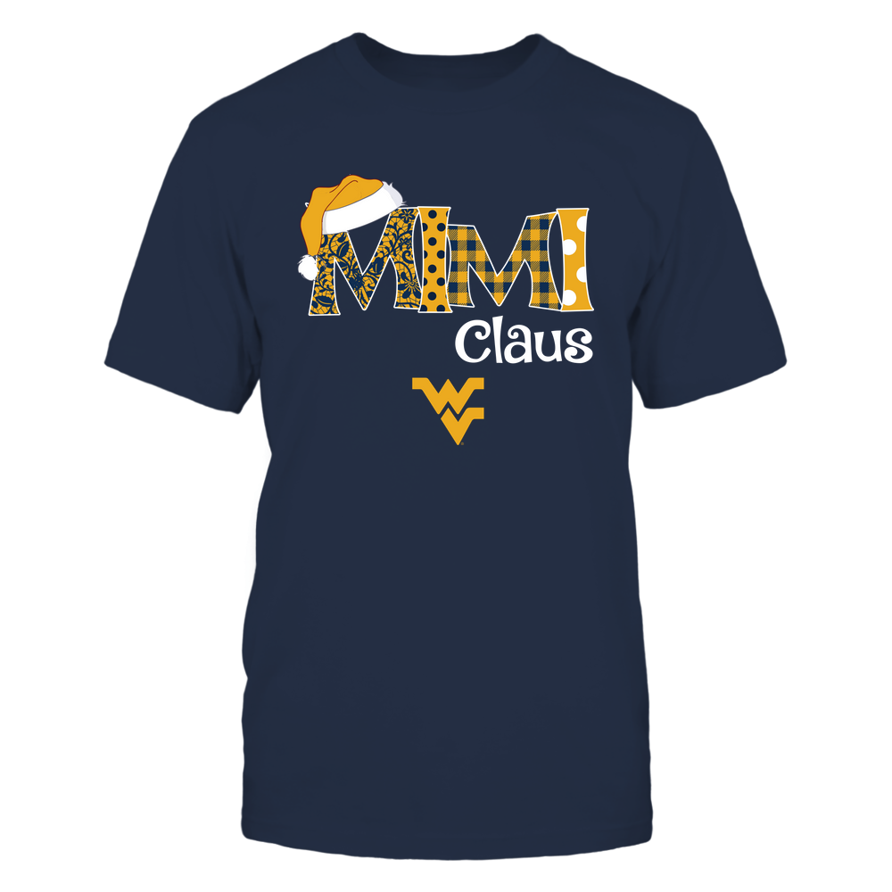 West Virginia Mountaineers - Xmas - Mimi Claus - IF32-IC32-DS63 Front picture