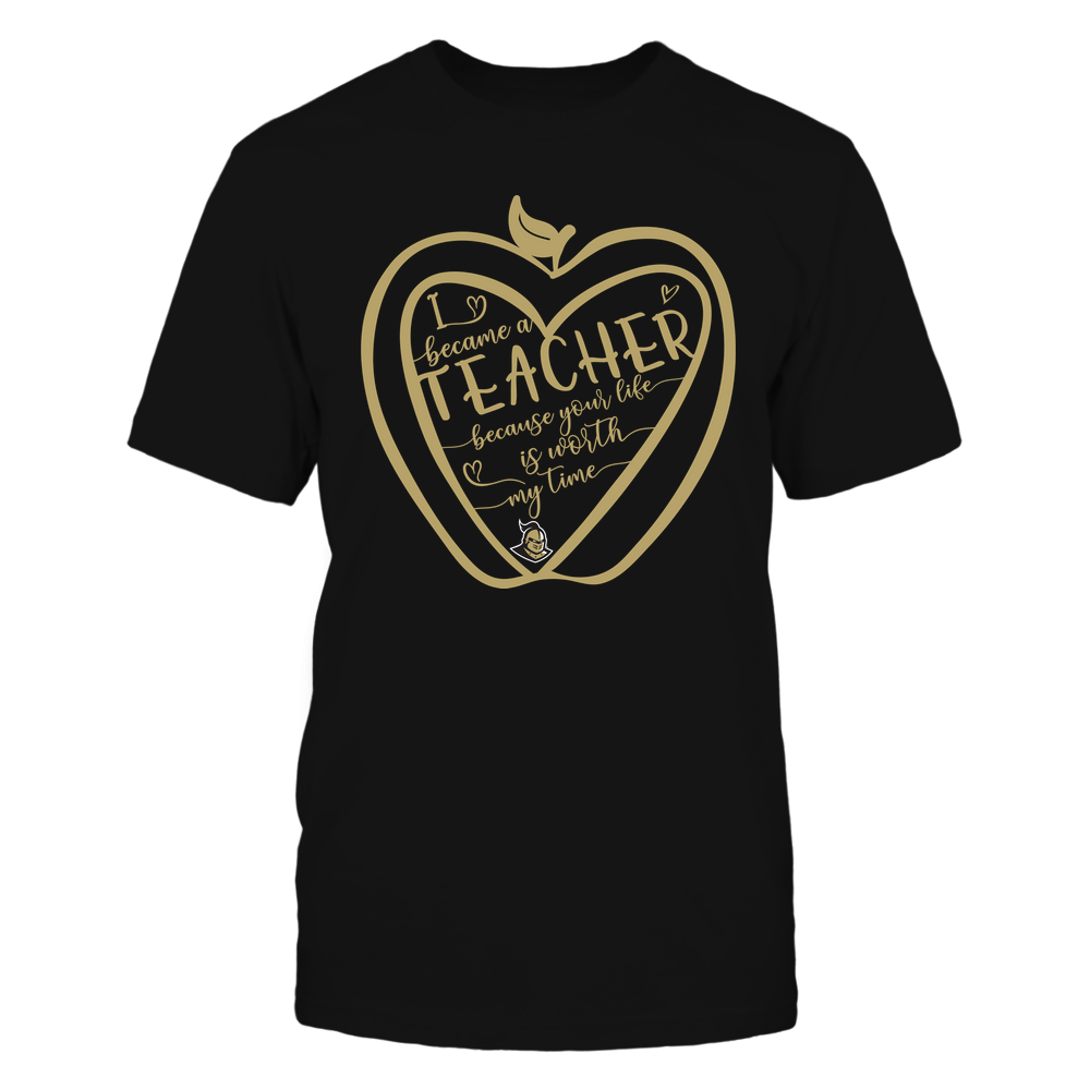 UCF Knights - Teacher - Heart In Apple - I Became - IF32-IC32-DS64 Front picture