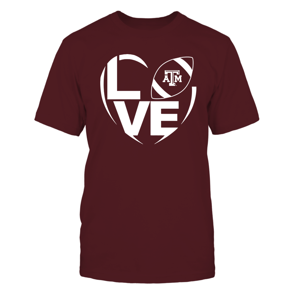 Texas A&M Aggies - Love Inside My Heart - IF32-IC32-DS37 Front picture