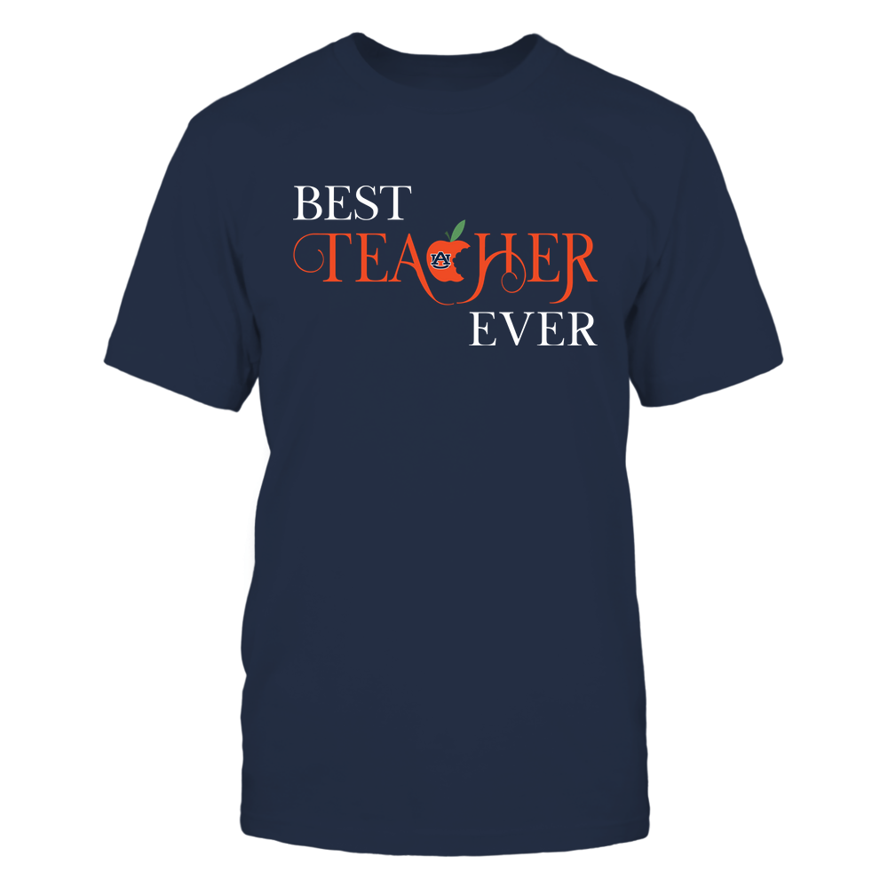 Auburn Tigers - Teacher - Best Teacher Ever - Half Aple - IF32-IC32-DS45 Front picture