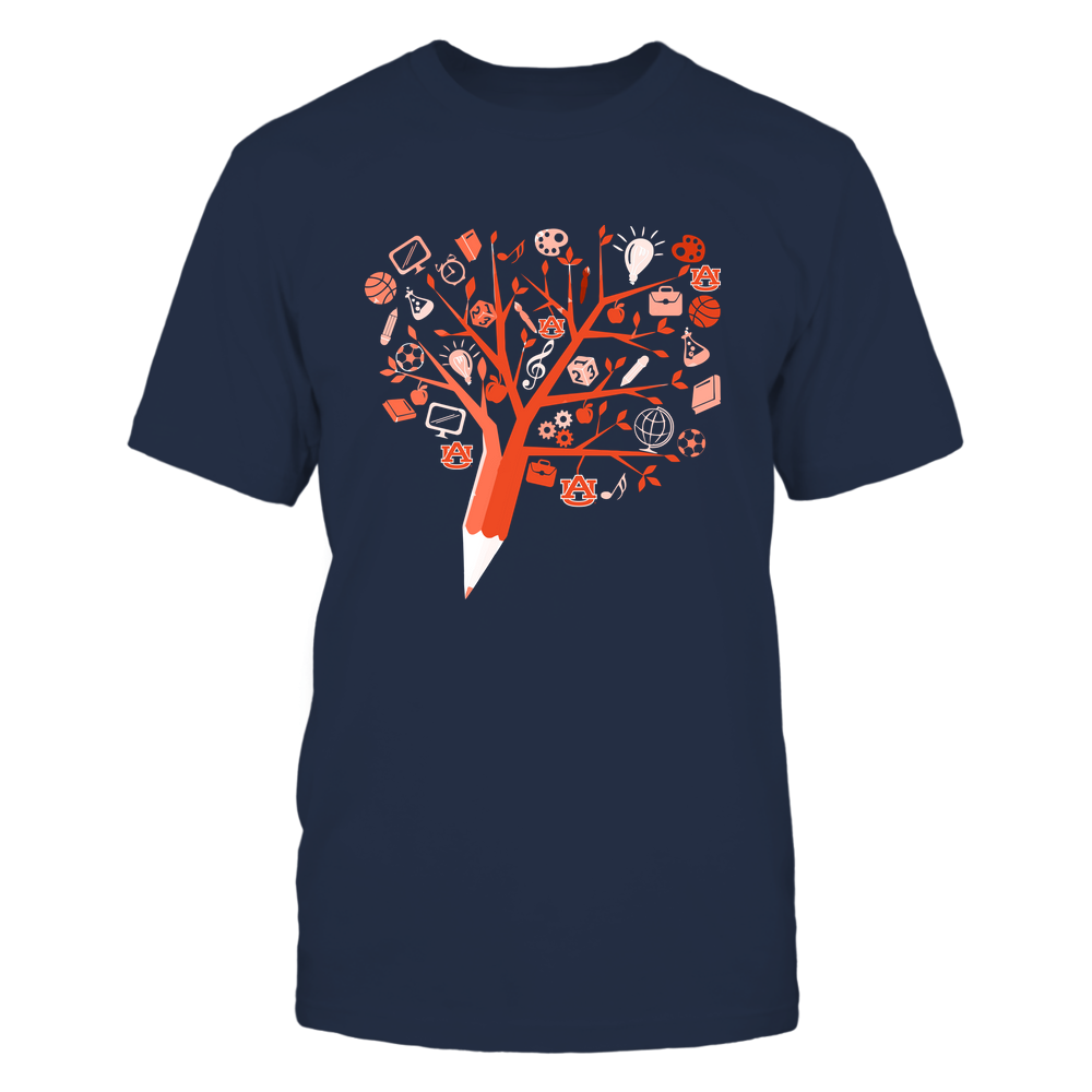 Auburn Tigers - Teacher - Apple Tree - IF32-IC32-DS38 Front picture