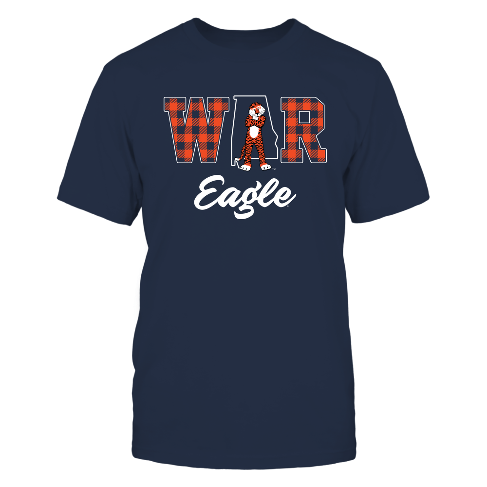 Auburn Tigers - Slogan - Mascot - State Outline - IF82-IC82-DS45 Front picture