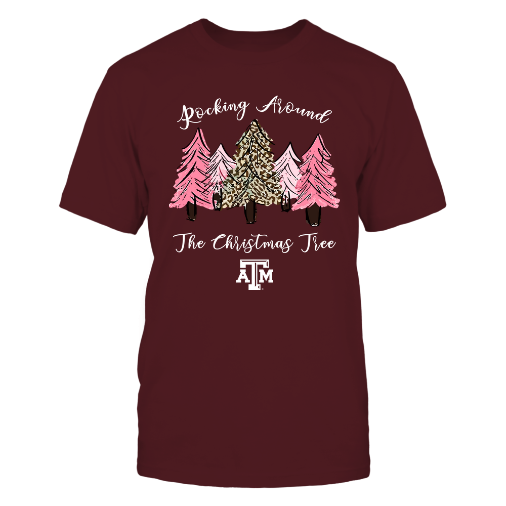 Texas A&M Aggies - Xmas - Rocking Around The Christmas Tree - IF32-IC32-DS64 Front picture