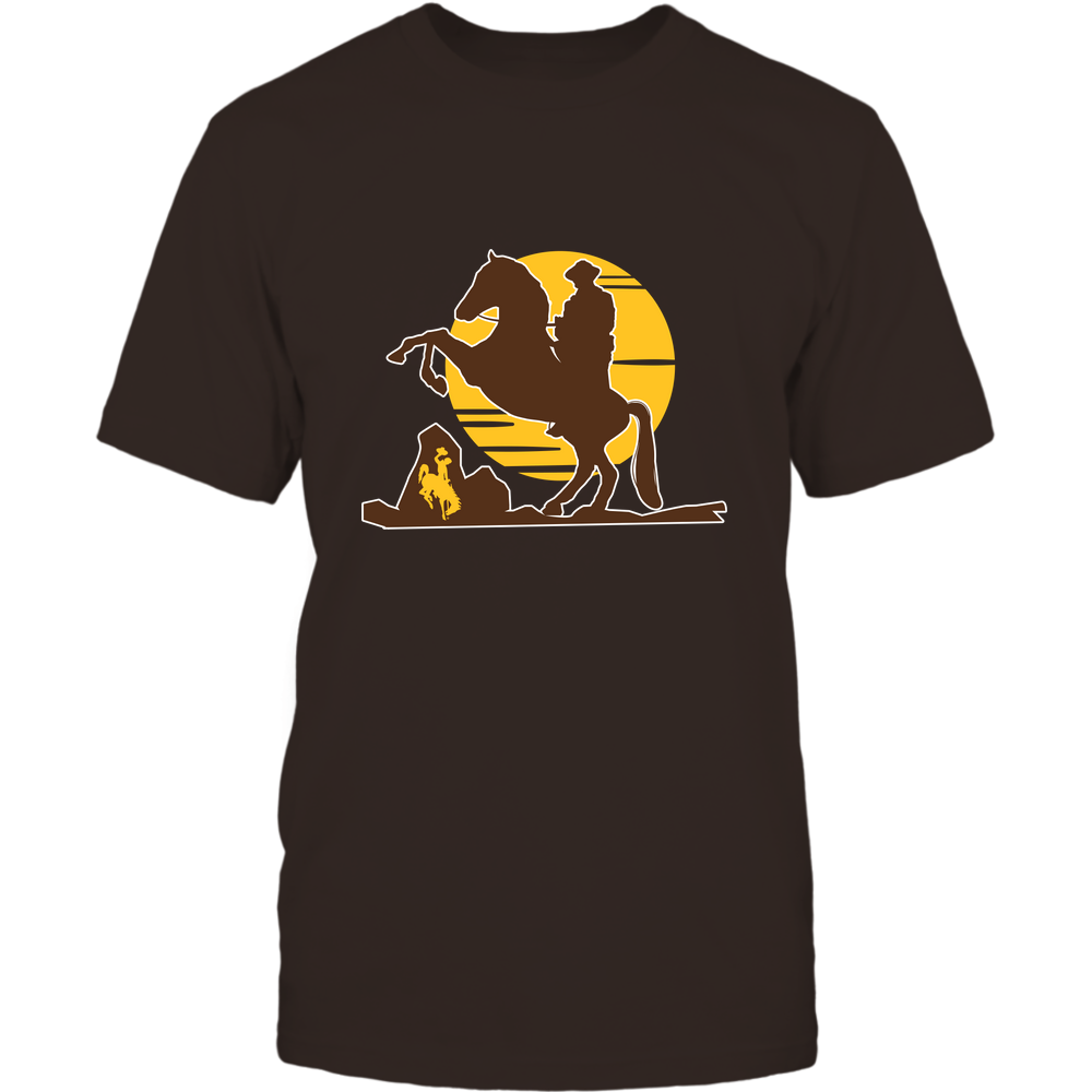 Wyoming Cowboys - Cowboy In Sunset - IF32-IC32-DS37 Front picture