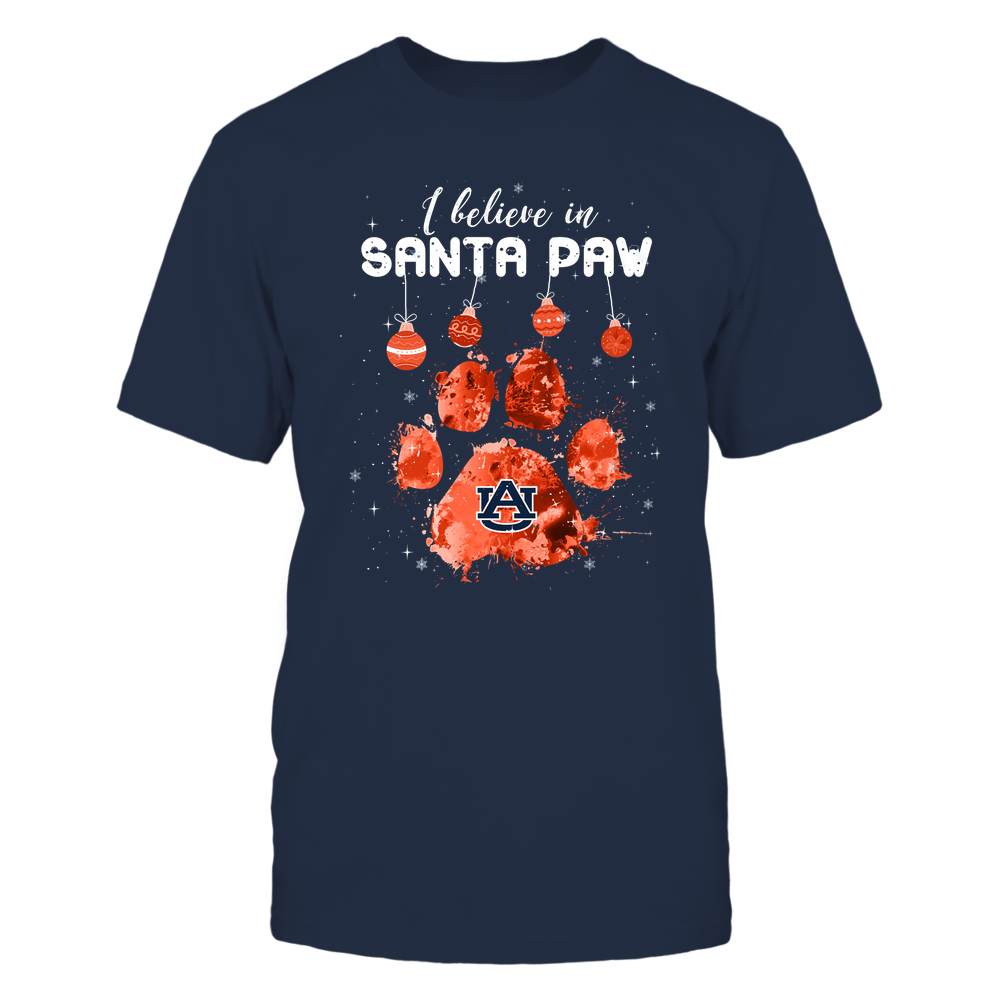 Auburn Tigers - Xmas - Believe In Santa Paw - IF32-IC32-DS64 Front picture