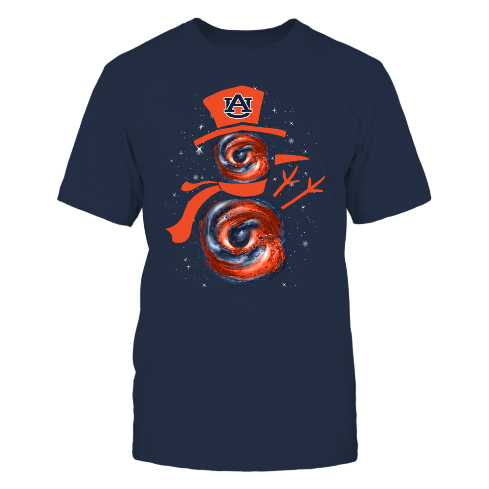 Auburn Tigers - Xmas - Hurricane Snowman - IF32-IC32-DS38 Front picture