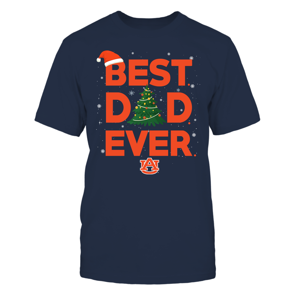 Auburn Tigers - Xmas - Best Dad Ever - IF32-IC32-DS37 Front picture