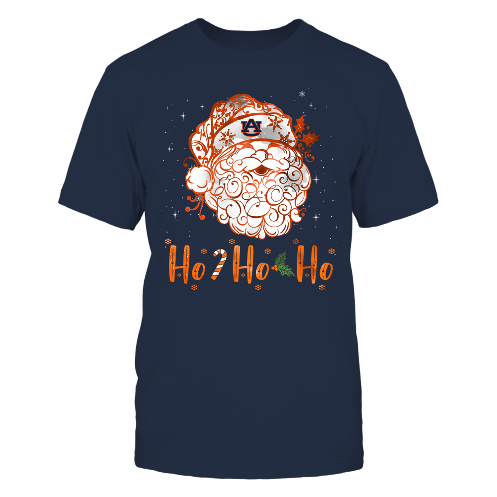 Auburn Tigers - Xmas - Ho Ho Ho - Santa Claus - IF32-IC32-DS38 Front picture
