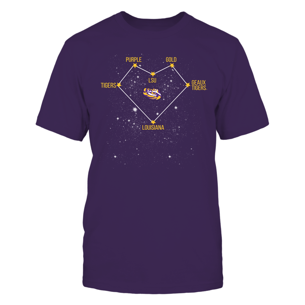 LSU Tigers - Heart Constellation - IF32-IC32-DS38 Front picture