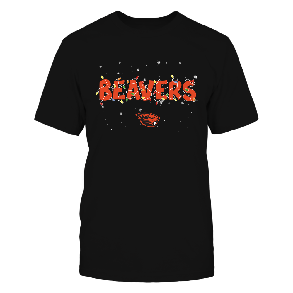 Oregon State Beavers - Xmas - Team Name Light - IF32-IC32-DS45 Front picture