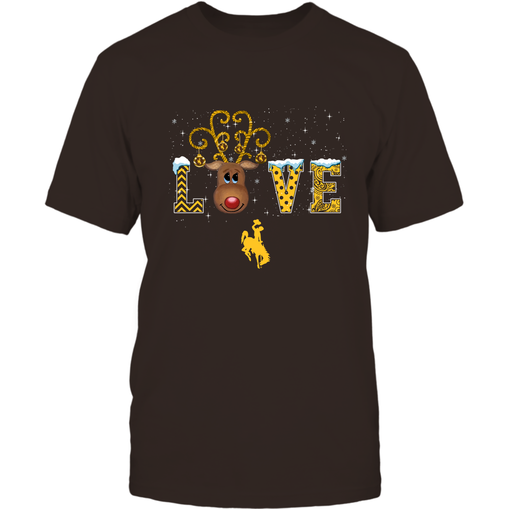 Wyoming Cowboys - Xmas - Love Reindeer - IF32-IC32-DS45 Front picture