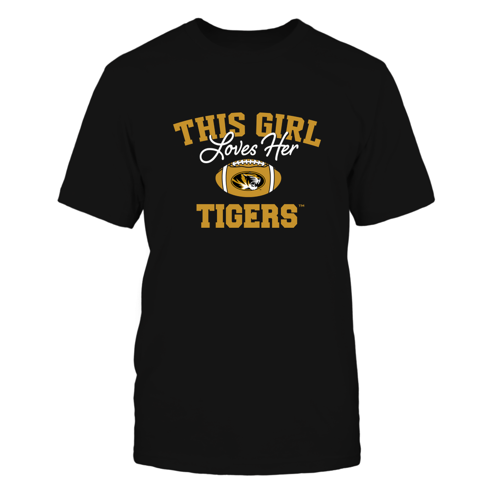 Mizzou Tigers - This Girl Loves Her Front picture