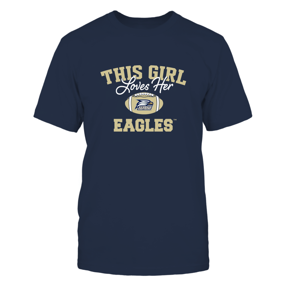 Georgia Southern Eagles - This Girl Loves Her Front picture