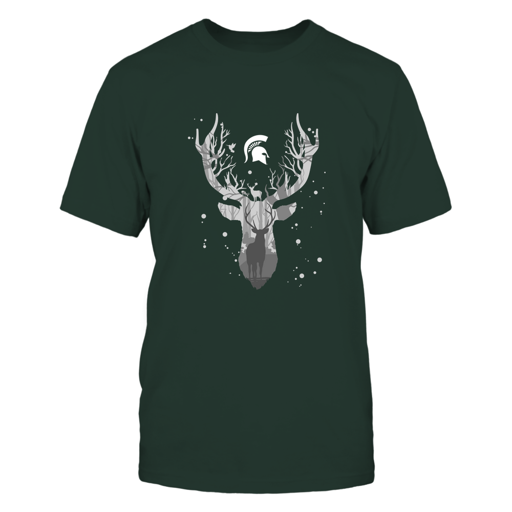 Michigan State Spartans - Hunting - Deer Inside Deer Front picture