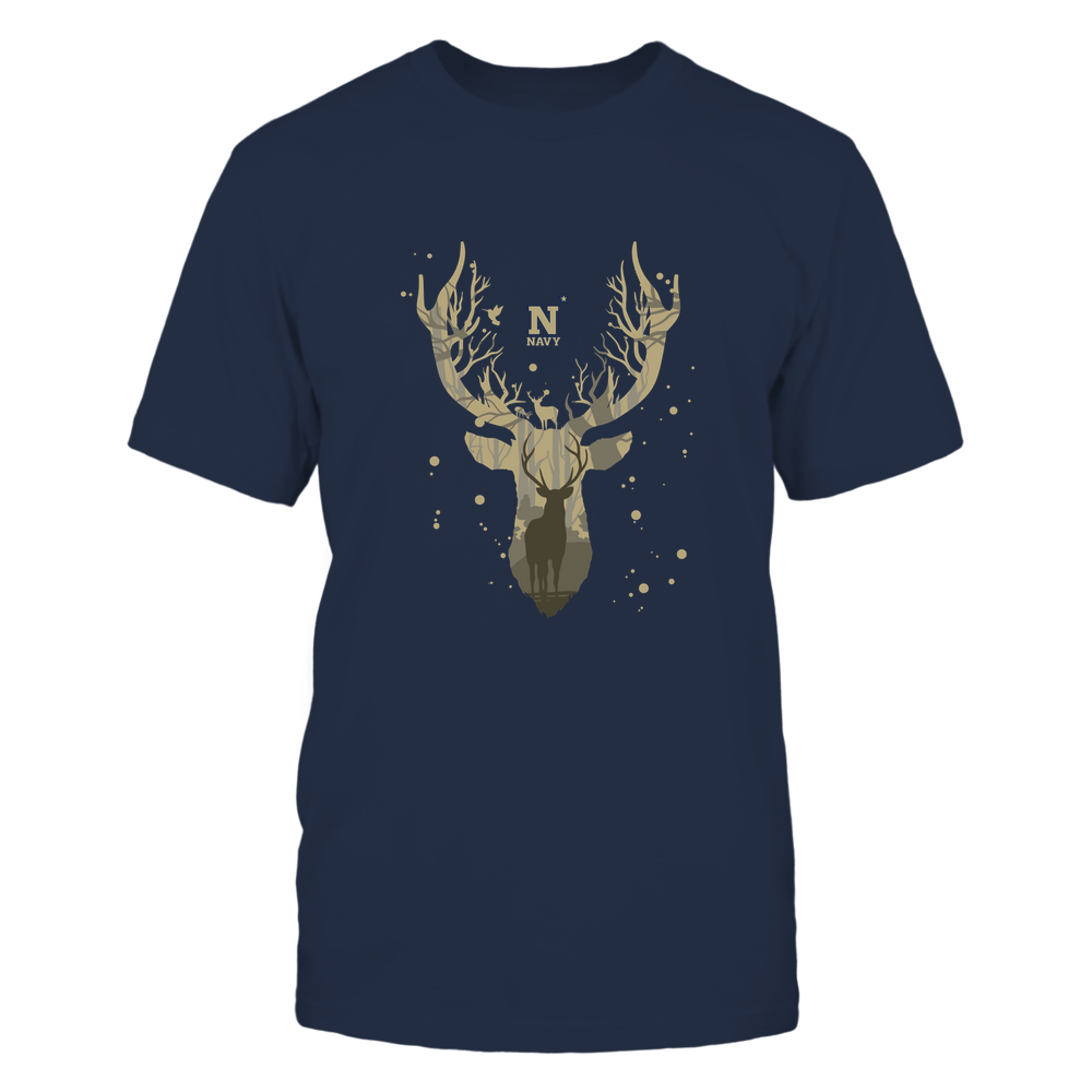 Navy Midshipmen - Hunting - Deer Inside Deer Front picture