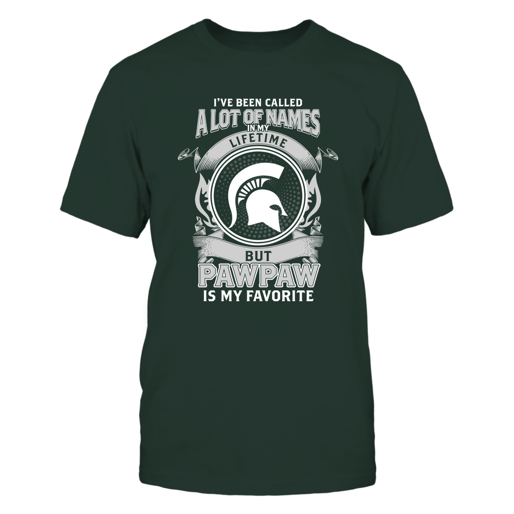Michigan State Spartans - My Favorite Name - Pawpaw Front picture