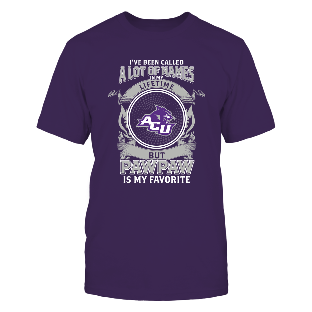 Abilene Christian Wildcats - My Favorite Name - Pawpaw Front picture