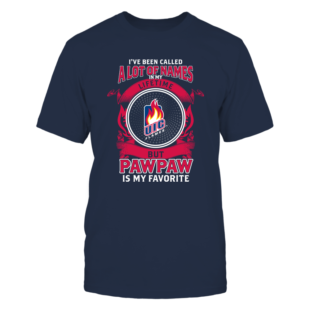 UIC Flames - My Favorite Name - Pawpaw Front picture