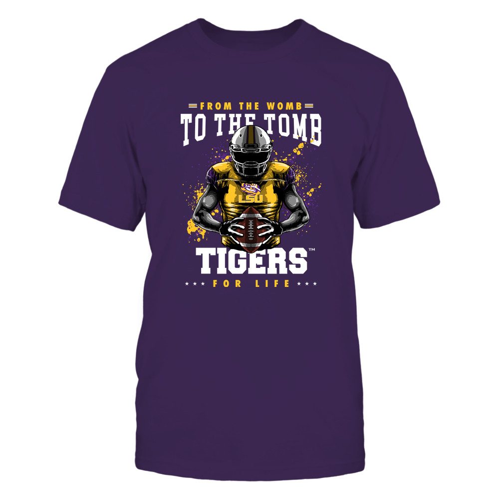LSU Tigers - From The Womb To The Tomb Front picture