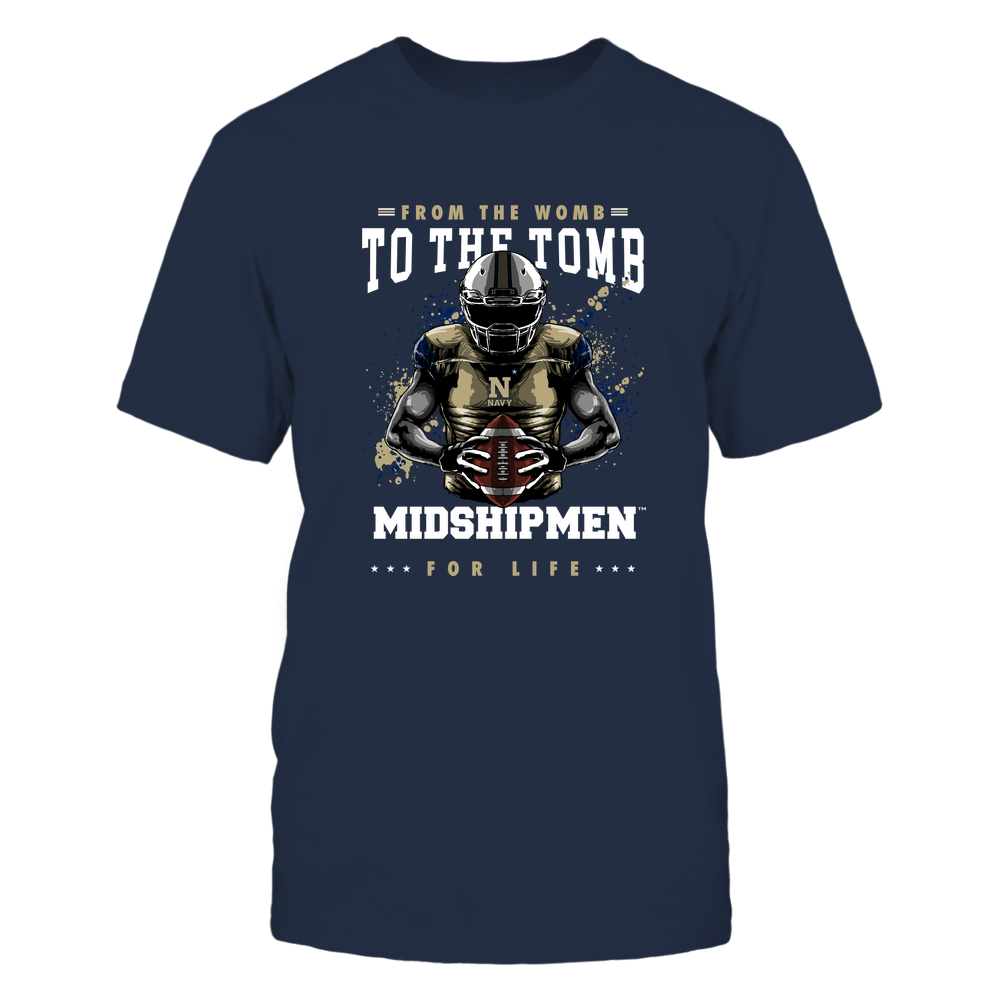 Navy Midshipmen - From The Womb To The Tomb Front picture