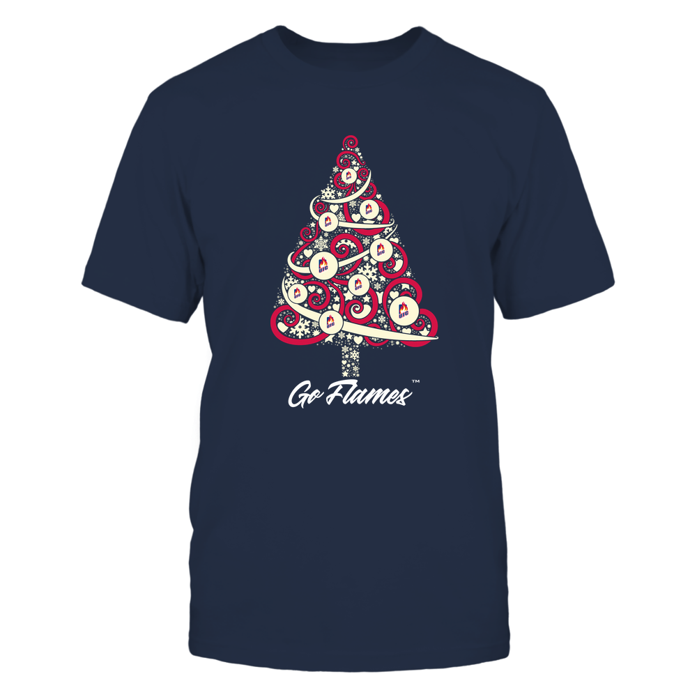 UIC Flames - Logo Christmas Tree Front picture