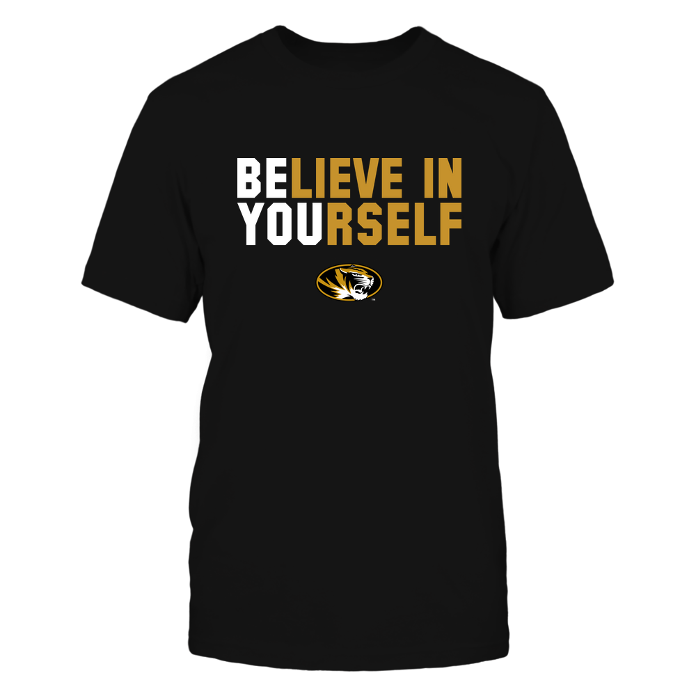 Mizzou Tigers - Believe In Yourself Front picture