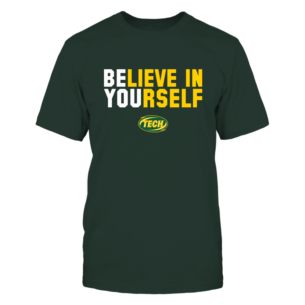 Arkansas Tech Golden Suns - Believe In Yourself Front picture