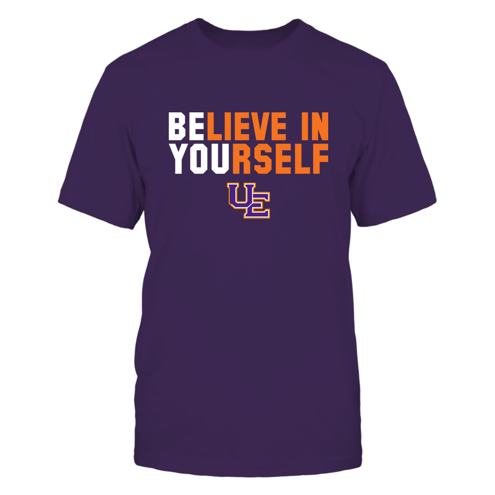 Evansville Purple Aces - Believe In Yourself Front picture