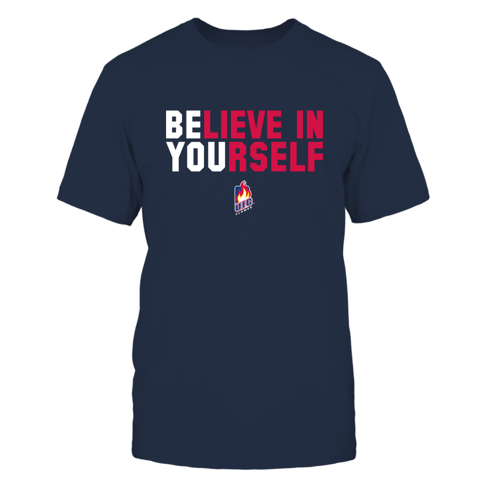 UIC Flames - Believe In Yourself Front picture