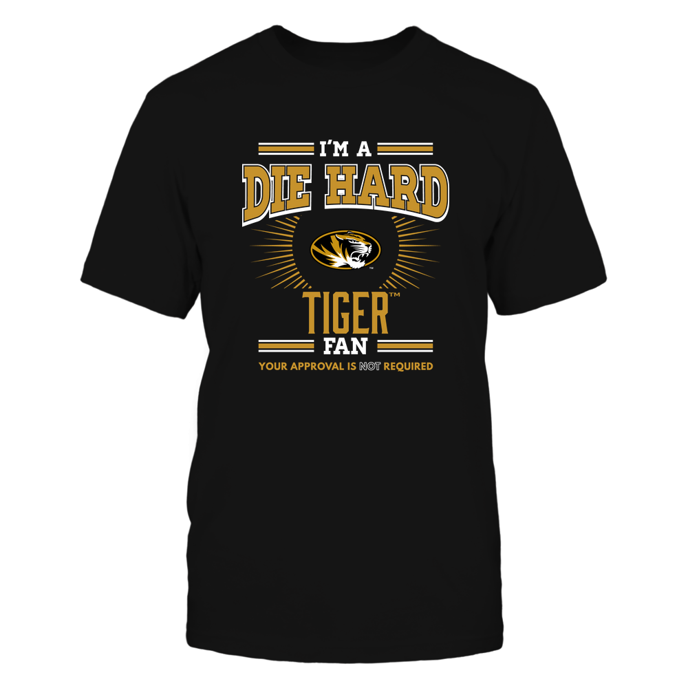 Mizzou Tigers - I'm a Die Hard Fan Front picture