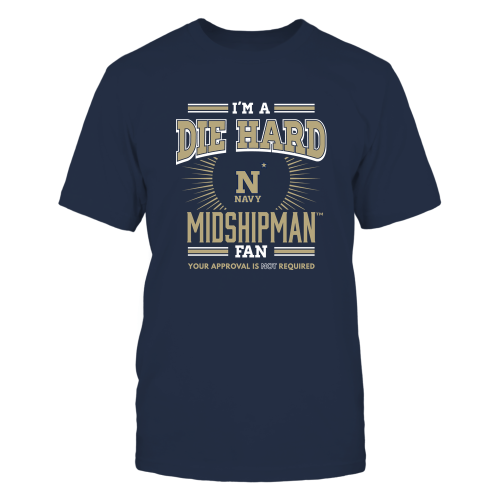 Navy Midshipmen - I'm a Die Hard Fan Front picture