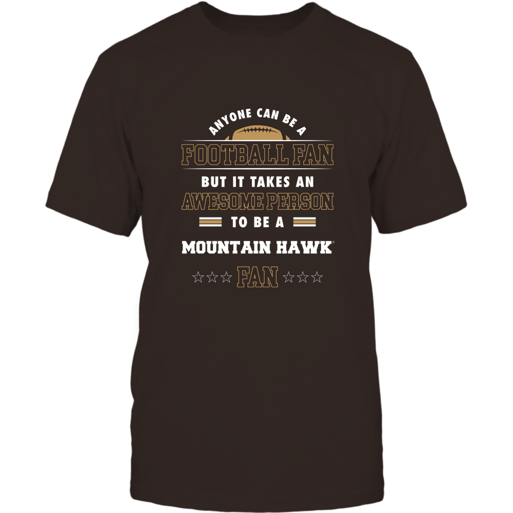 Lehigh Mountain Hawks - Anyone Can Be A Football Fan Front picture