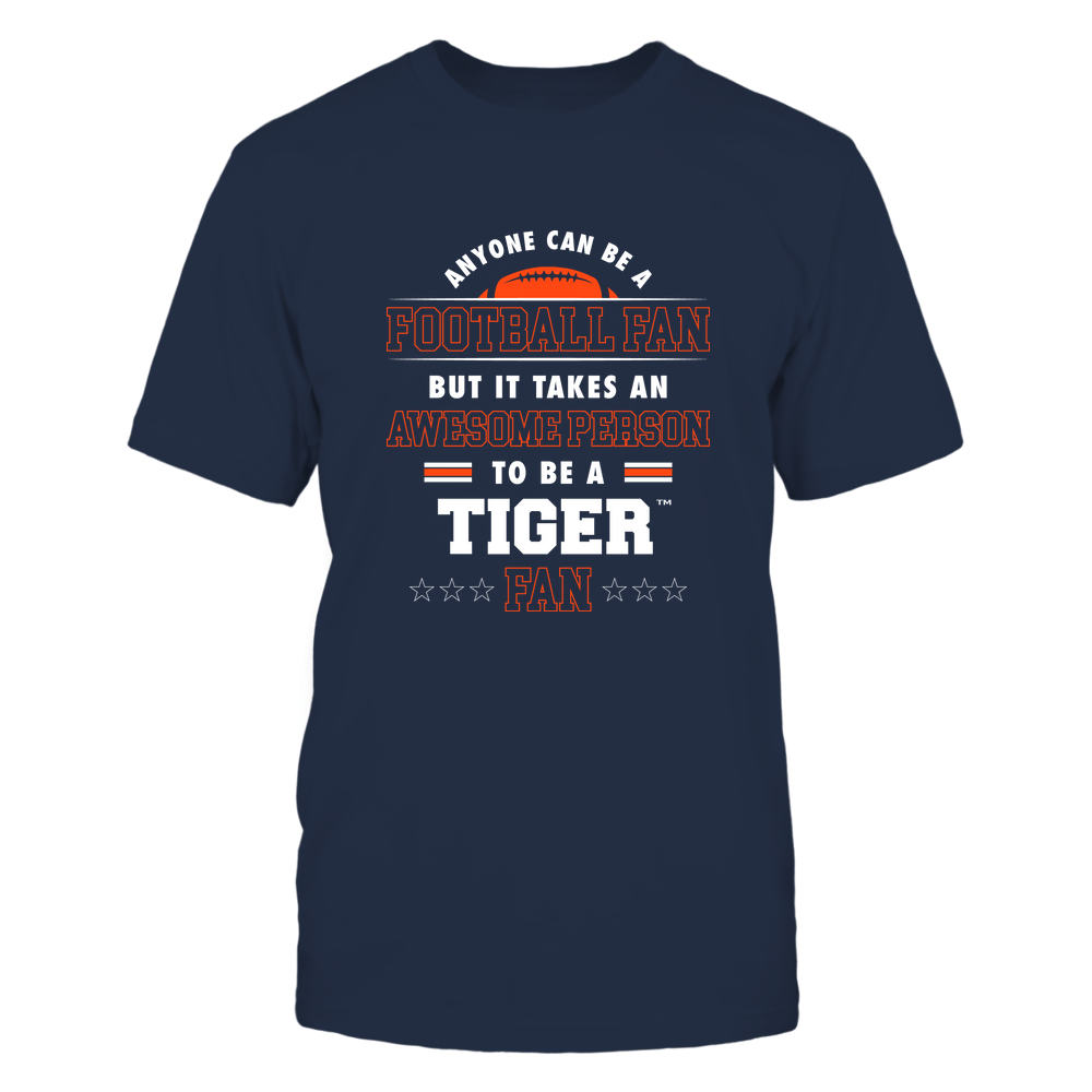 Auburn Tigers - Anyone Can Be A Football Fan Front picture