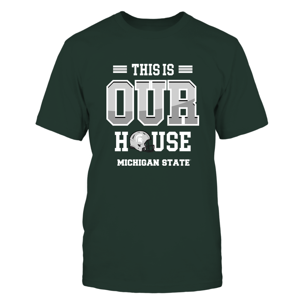 Michigan State Spartans - This Is Our House - Football Front picture