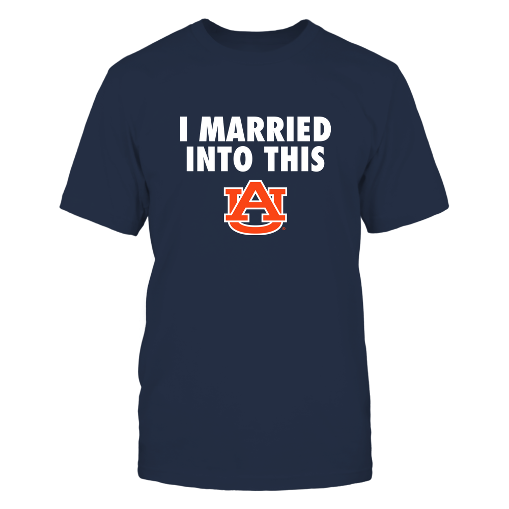 Auburn Tigers - Married Into This Front picture