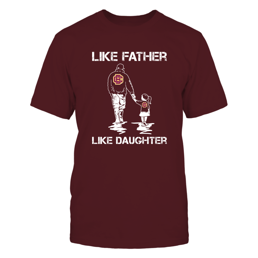 Bethune-Cookman Wildcats - LIKE FATHER LIKE DAUGHTER Front picture