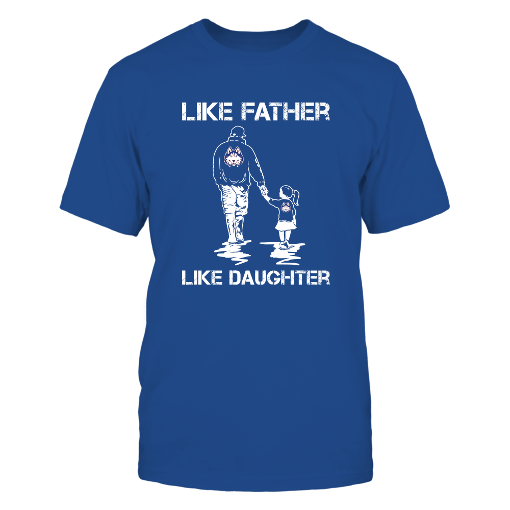 Houston Baptist Huskies - LIKE FATHER LIKE DAUGHTER Front picture