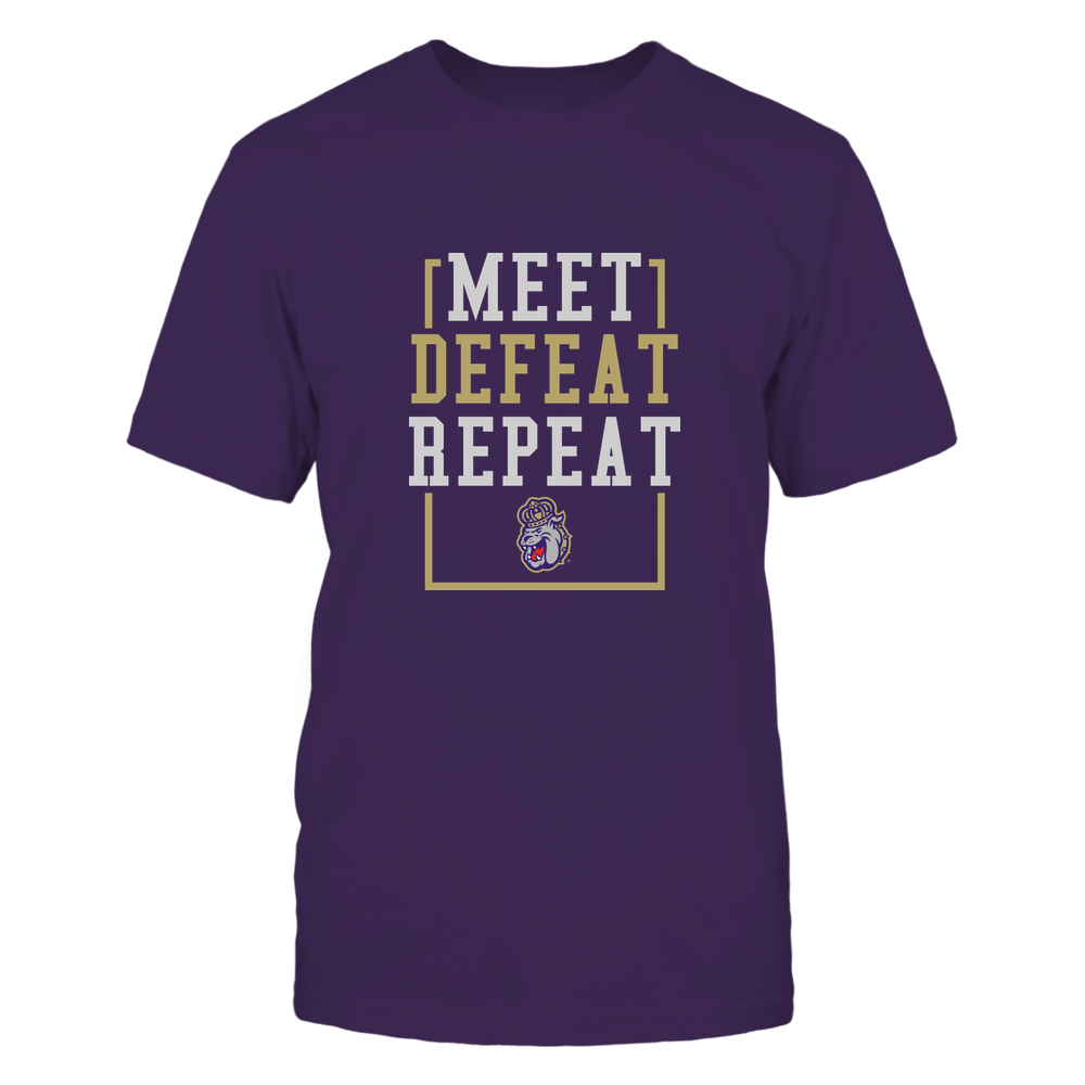 James Madison Dukes - MEET DEFEAT REPEAT Front picture