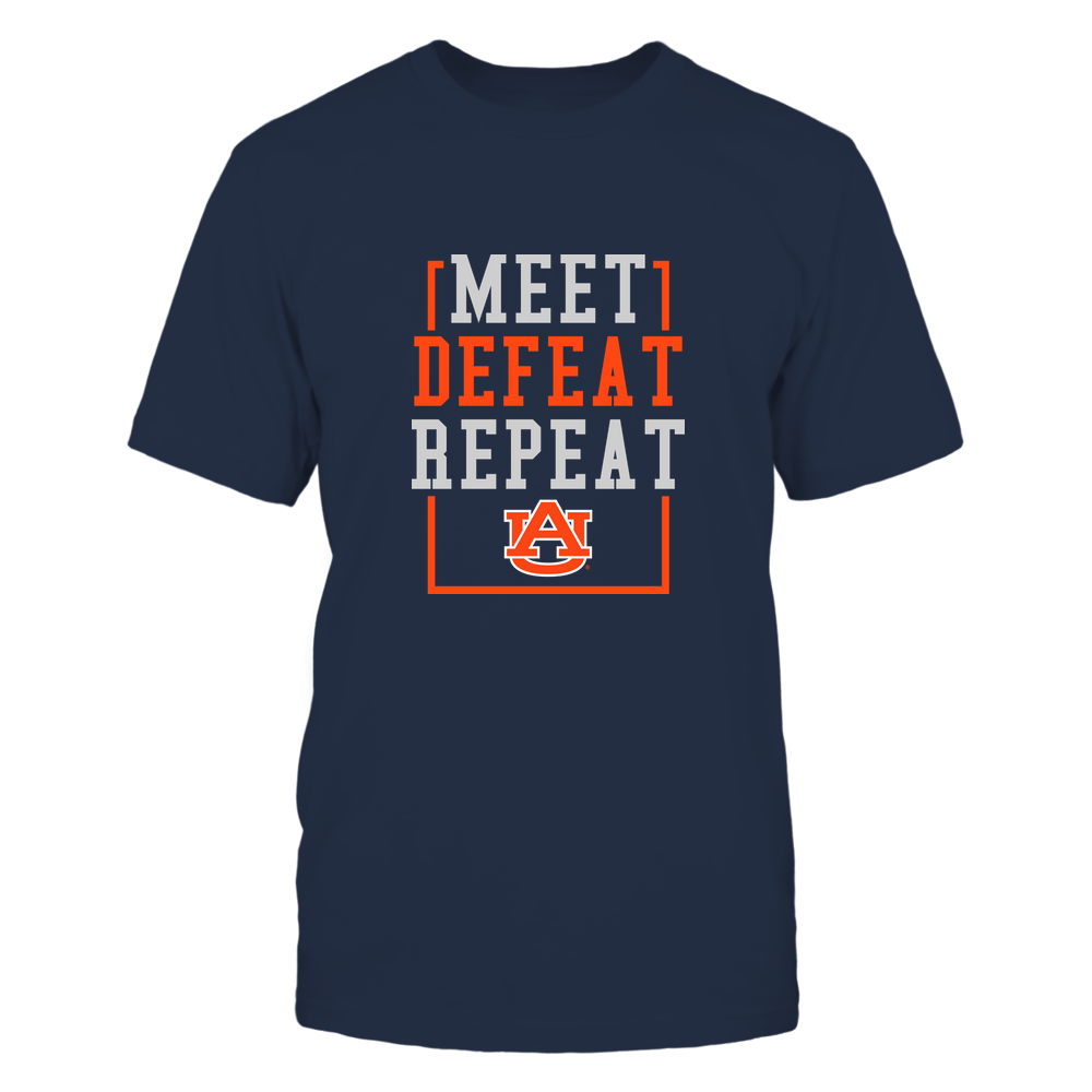 Auburn Tigers - MEET DEFEAT REPEAT Front picture