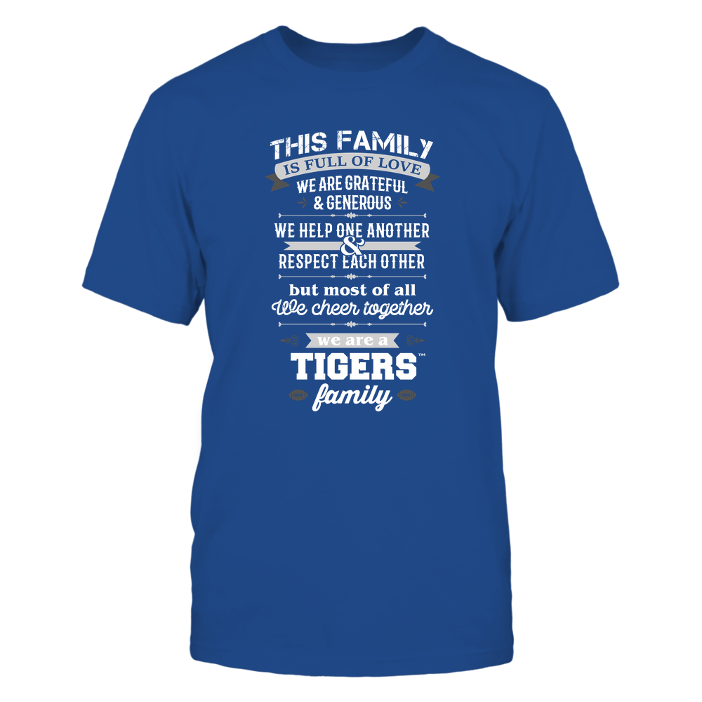 Memphis Tigers - Family Full of Love Front picture