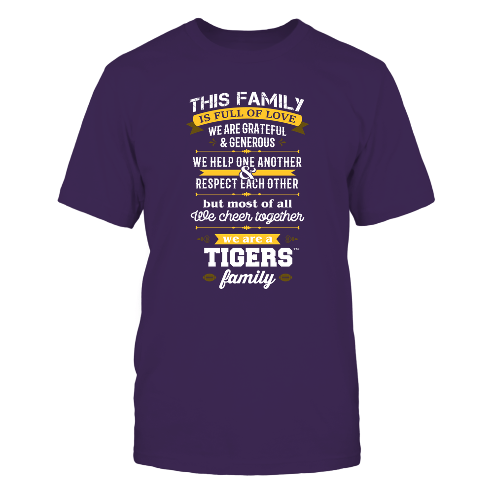 LSU Tigers - Family Full of Love Front picture