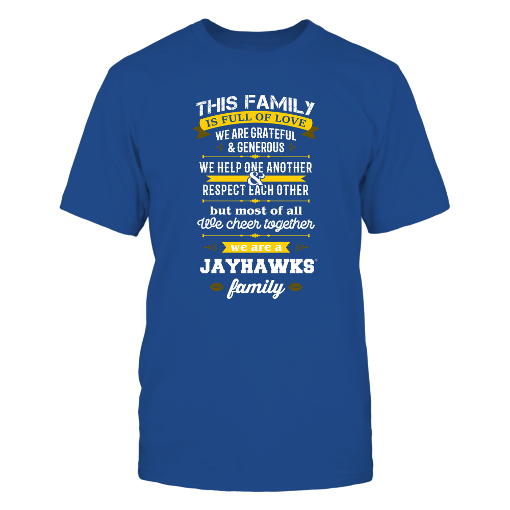 Kansas Jayhawks - Family Full of Love Front picture