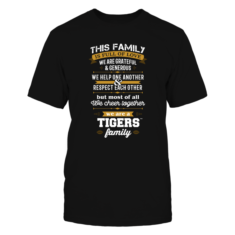 Mizzou Tigers - Family Full of Love Front picture