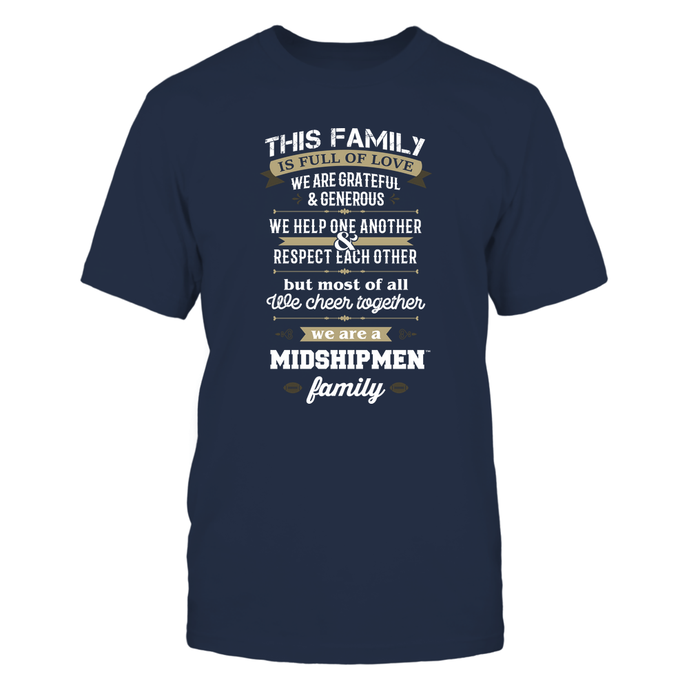 Navy Midshipmen - Family Full of Love Front picture