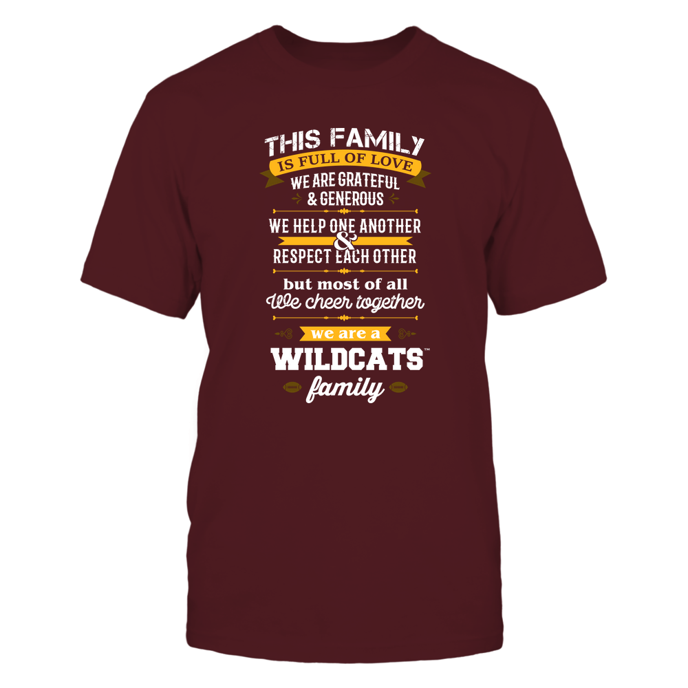 Bethune-Cookman Wildcats - Family Full of Love Front picture