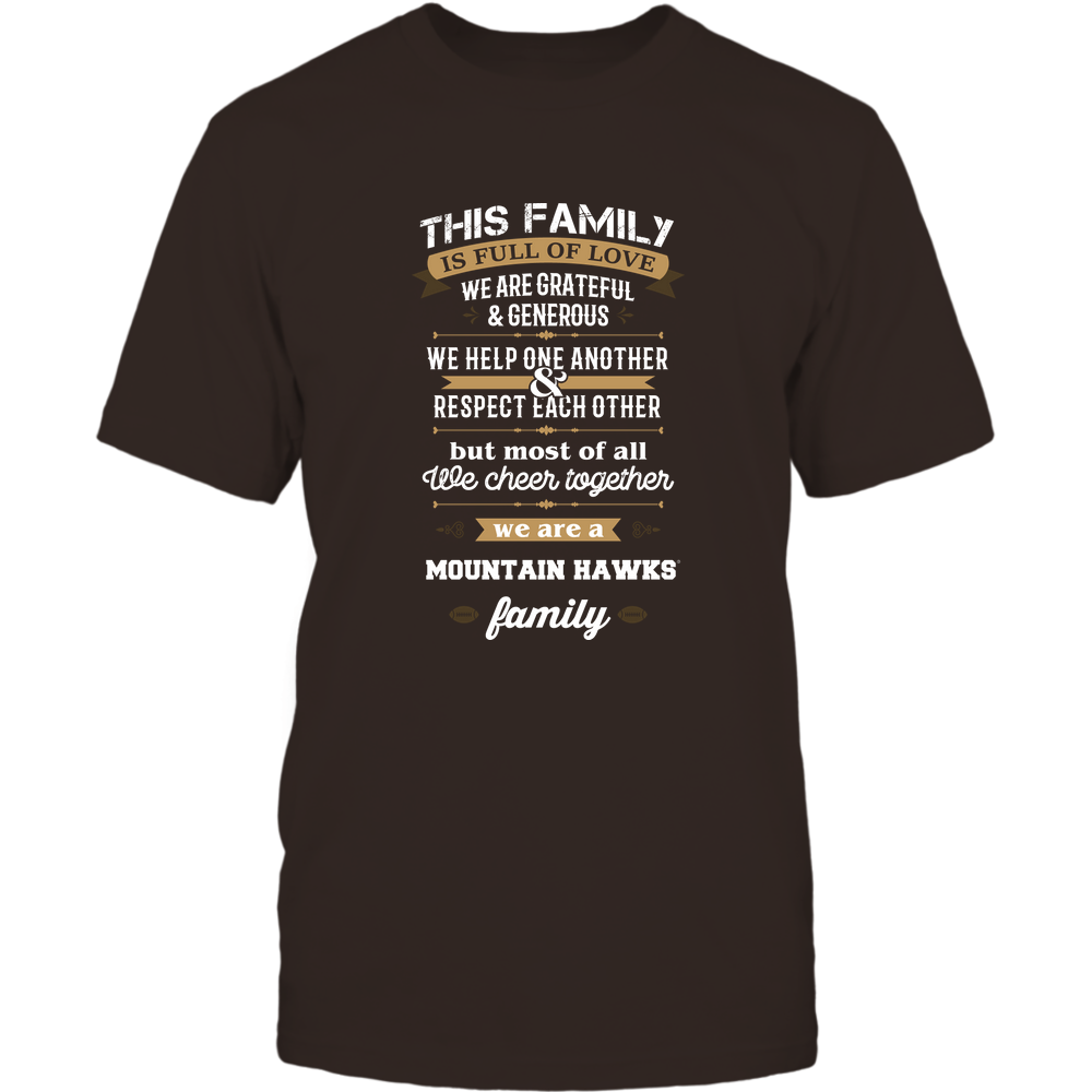 Lehigh Mountain Hawks - Family Full of Love Front picture