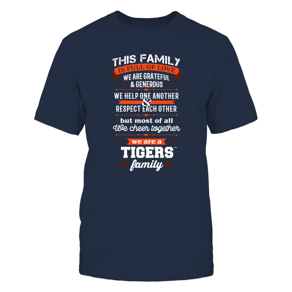 Auburn Tigers - Family Full of Love Front picture