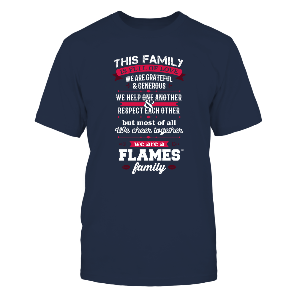 UIC Flames - Family Full of Love Front picture