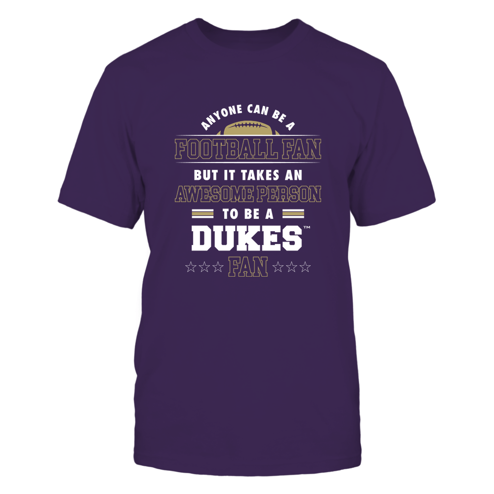 James Madison Dukes - Anyone Can Be A Football Fan Front picture